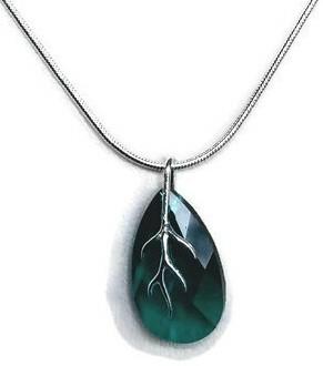Swarovski Emerald Crystal Pendant